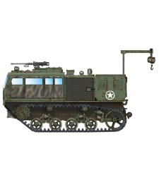 1:72 M4 High Speed Tractor (155mm/8-in./240mm)