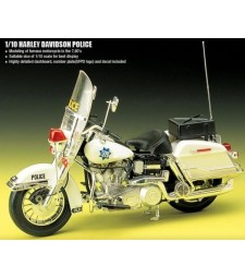 1:10 CLASSIC POLICE MOTORCYCLE