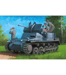 1:35  German Flakpanzer IA w/Ammo.Trailer