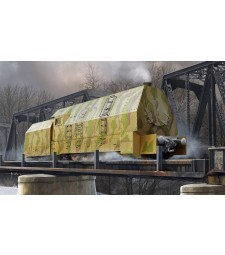 1:72 German Panzerlok BR57Armoured Locomotive
