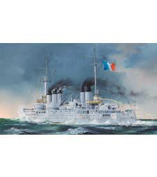 1:350 French Navy Pre-Dreadnought Battleship Condorcet