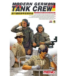 1:35 Modern German Tank Crew - 4 figures
