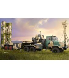 1:35 Russian KrAZ-260B Tractor with 5P85TE TEL S-300PMU