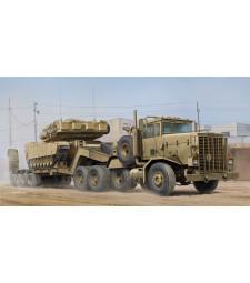 1:35 M911 C-HET with m747 Heavy Equipment Semi-Trailer