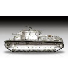1:72 Soviet T-28 Medium Tank (Riveted)
