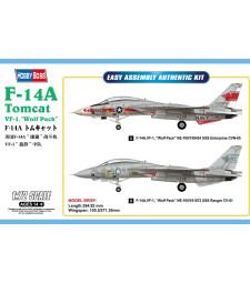 "1:72 F-14A Tomcat VF-1, ""Wolf Pack"""