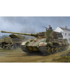 1:35 Pz.Kpfw.VI Sd.Kfz.182 Tiger II (Henschel 1944 Production) w/ Zimmerit