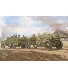 1:35 M3A1  late version tow 122mm Howitzer M-30