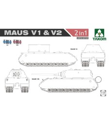 1:35 WWII  Maus V1 & V2  2 in 1 (Limited Edition)