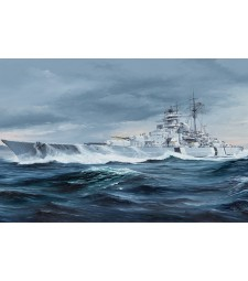 1:350 German Bismarck Battleship
