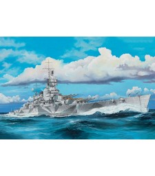 1:350 Italian Navy Battleship RN Vittorio Veneto 1940