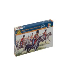 1:72 WATERLOO 200 - NAPOL.WARS:  BRITISH HEAVY CAVALRY - 18 figures