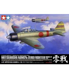 1:32 Mitsubishi A6M2b Zero Fighter Model 21 (Zeke)