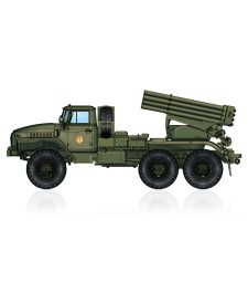1:72 Russian BM-21 Grad Multiple Rocket Launcher