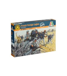 1:72 FRENCH FOREIGN LEGION - 50 figures