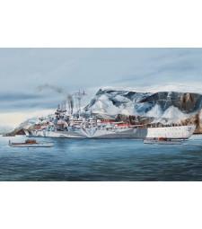 1:350 German Tirpitz Battleship