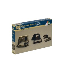 1:72 WWII - WALLS AND RUINS II