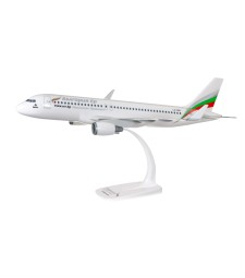 1:100 Bulgaria Air A320-200  - snap fit