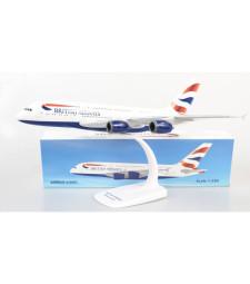 1:250 BRITISH AIRWAYS AIRBUS A380-800 - snap-fit