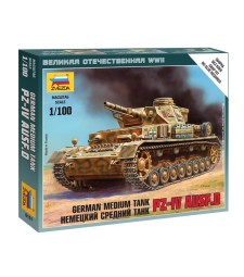 1:100 Pz IV Ausf.D