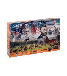 1:72 FARMHOUSE BATTLE - American Civil War
