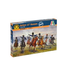 1:72 BRITISH HUSSARS CAVALRY - 12 figures