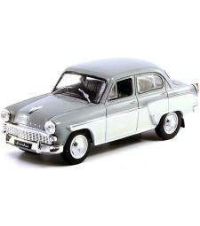 Moskvich 407 Sedan 1958 Soviet Union Ussr, Grey/Cream
