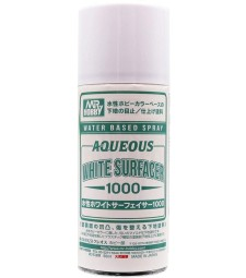 B-612 Aqueous Surfacer 1000 Spray (170 ml) White