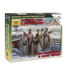 1:72 SOVIET HQ WINTER - 4 figures