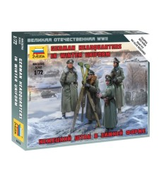 1:72 GERMAN HQ WINTER - 4 figures