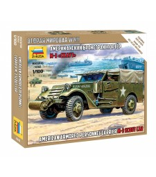 1:100 M-3 SCOUT CAR – snap-fit
