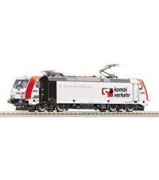"""Electric locomotive BR 185.5 """"Kombiverkehr"""" of the Locomotion, epoch V"""