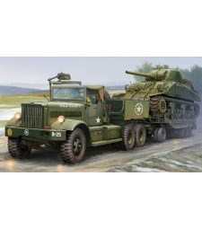 1:35 US M19 Tank Transporter with Soft Top Cab - Model Kit