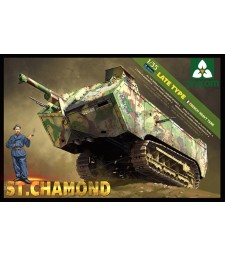 1:35 French HeavyTank St.Chamond Late Type