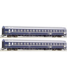 Sleeping car Set of T2S by Swiss Federal Railways (SBB)