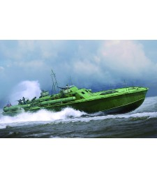 1:48 U.S. Navy Elco 80' Motor Patrol Torpedo Boat, Early Type - Model Kit
