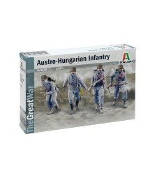 1:35 WW I AUSTRO-HUNGARIAN INFANTRY 1914 - 4 figures