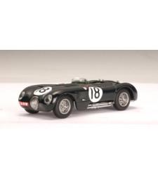 JAGUAR C-TYPE L.M. WINNER 1953 T.ROLT / D.HAMILTION #18 (RACING GREEN)