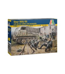 1:35 STEYR RSO/01 with GERMAN SOLDIERS - 7 figures
