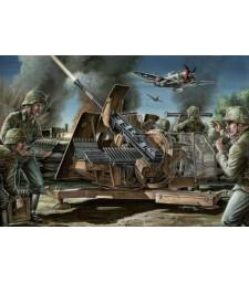 1:35 German 3,7 cm Anti aircraft gun 43