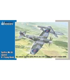 1:48 Spitfire Mk.XII against V-1 Flying Bomb