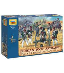 1:72 RUSSIAN FOOT ARTILLERY 1812-15