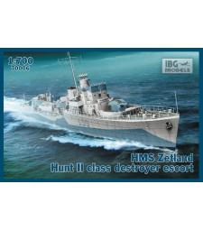 1:700 ORP SLAZAK 1943 Hunt II Class Destroyer Escort