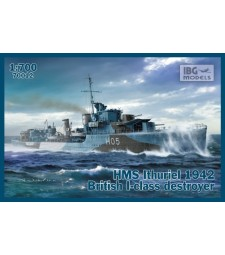 1:700 HMS Ithuriel 1942 British I-Class Destroyer