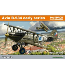 1:72 Avia B-534 early series DUAL COMBO