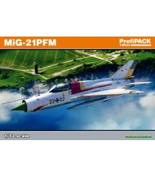 1:72 Soviet Cold War jet aircraft MiG-21PFM