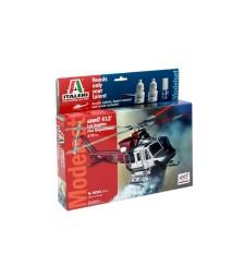 1:72 BELL 412 Los Angeles City Fire - Model Set