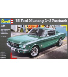 1:24 FORD MUSTANG 2+2 FASTBACK