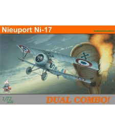 1:72 Nieuport Ni-17 DUAL COMBO