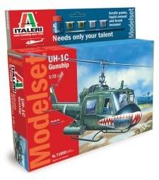 1:72 Bell UH-1C GUNSHIP – Model Set